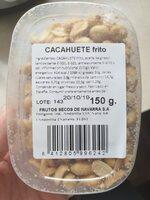 CACAHUETE frito - Ingredients - es