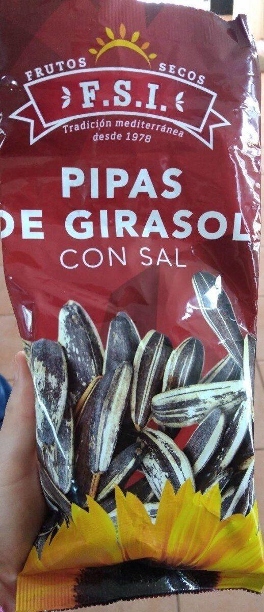 Pipas de girasol con sal - Produit - es