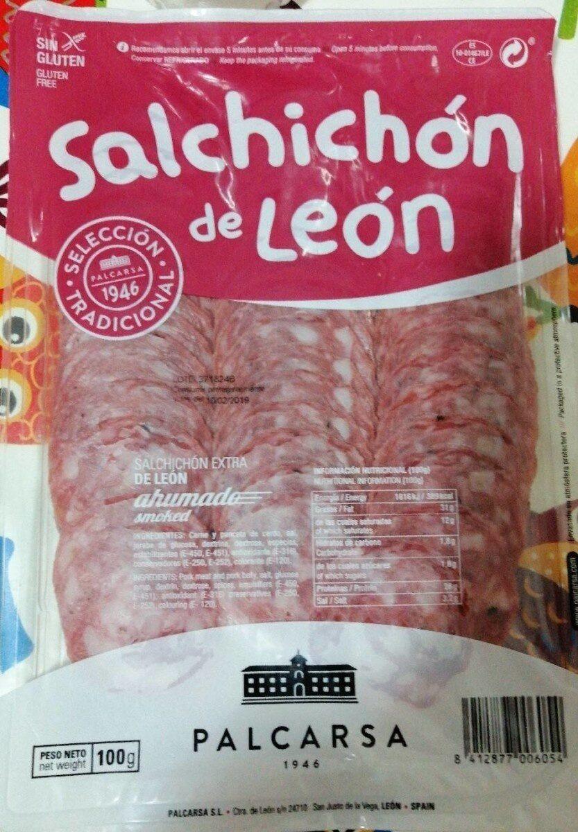Salchichón de León - Producto - es