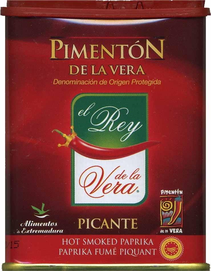 Pimentón de La Vera picante - Producte - es