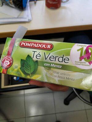 Té verde con menta - Product - es