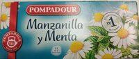 Pompadour Chamomile And Menta Tea - Product - fr