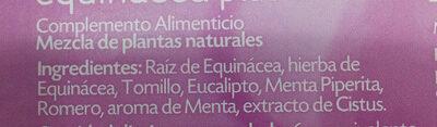 Equinacea plus 5 multinfusión - Ingrediënten