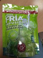 Agua fría infusión té verde con hierbabuena - Produit - es