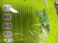 Agua fría infusión té verde con hierbabuena - Ingrédients - es