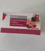 Infusión de rooibos, escaramujo e hibisco - Producte