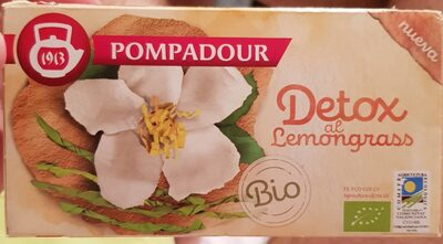 Infusión detox al lemongrass - Producto - es