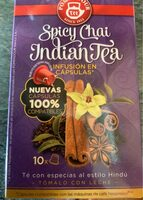 Spicy chai indian tea - Product - es