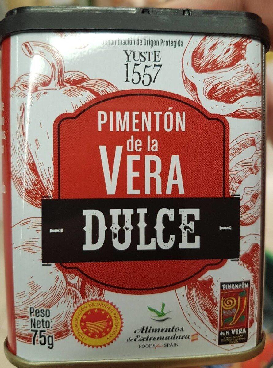Pimenton de la Vera Dulce - Producto