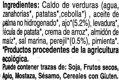 """Paté vegetal ecológico """"Oleander"""" Ajo y finas hierbas - Ingredients - es"""