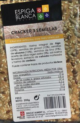 Cracker 3 semillas - Producto - fr