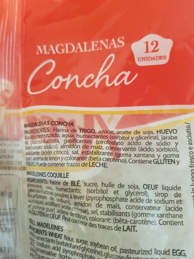 Magdalenas - Product