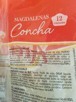 Magdalenas - Ingrediënten