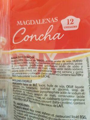Magdalenas - Voedigswaarden
