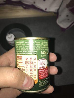 Solis - Ingrédients