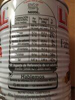 Fabada Asturiana - Información nutricional