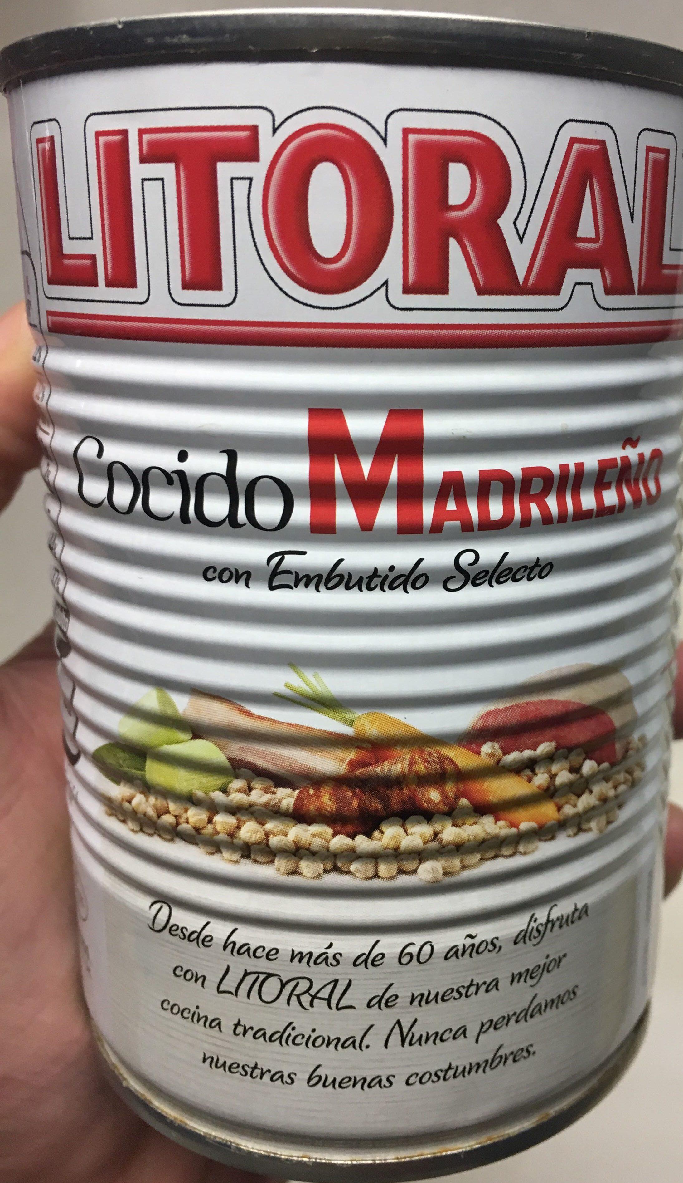 Cocido Madrileño Litoral - Produit