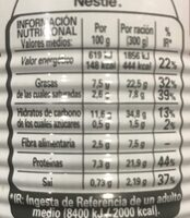 Cocido Madrileño Litoral - Informations nutritionnelles