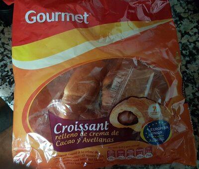 croissant relleno de crema de cacao y avellanas - Produit - es