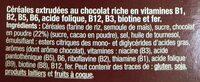 Riz chocolaté - Ingredientes