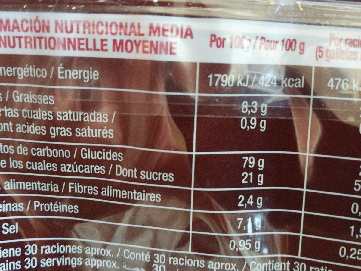 Galetta tostada - Ingredients