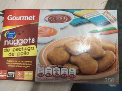 Nuggets de pechuga de pollo - Product - es