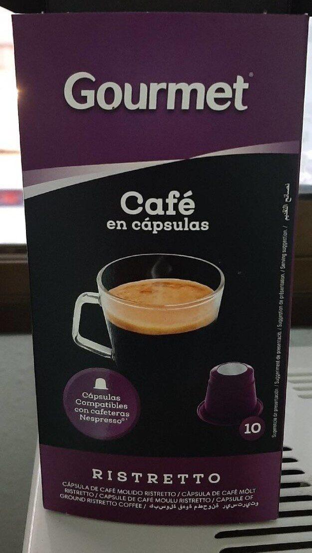 Café Ristretto Gourmet - Prodotto - es