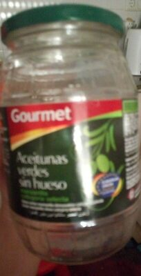 Aceitunas verdes sin hueso - Product