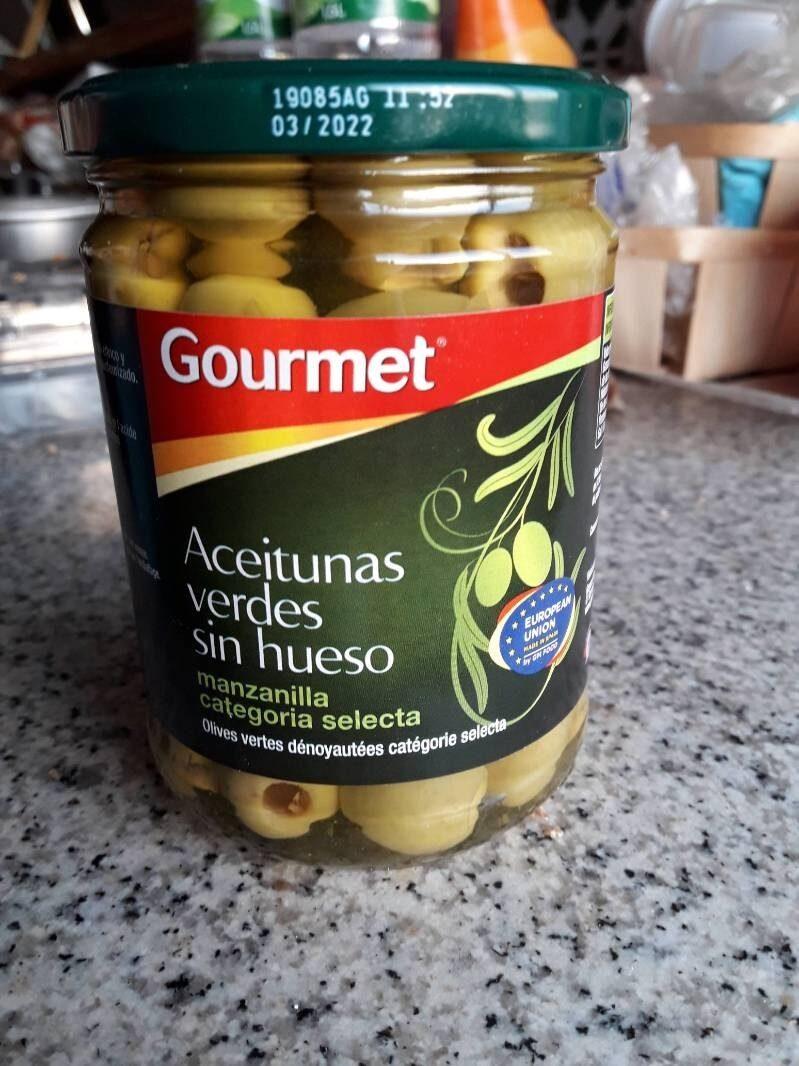 Aceitunas verdes sin hueso - Product - es