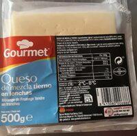 Queso de mezcla tierno en lonchas - Product