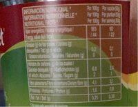 Alcachofas Gourmet 6 / 8 Piezas - Informations nutritionnelles - fr