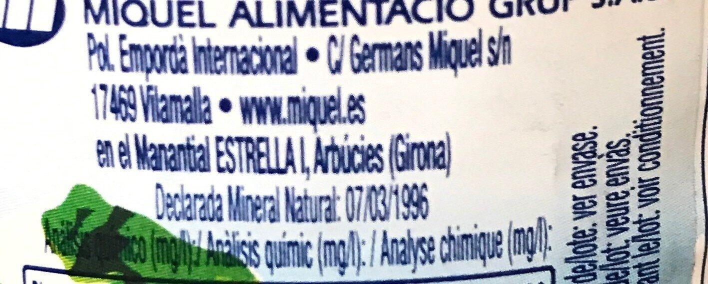 Estrella I - Ingredientes