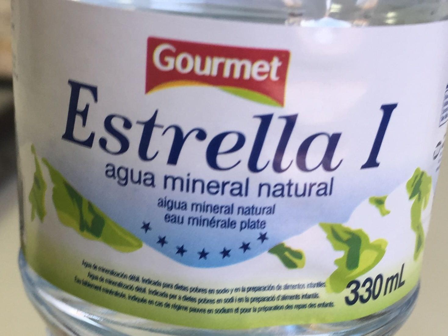 Agua mineral - Ingredientes - es