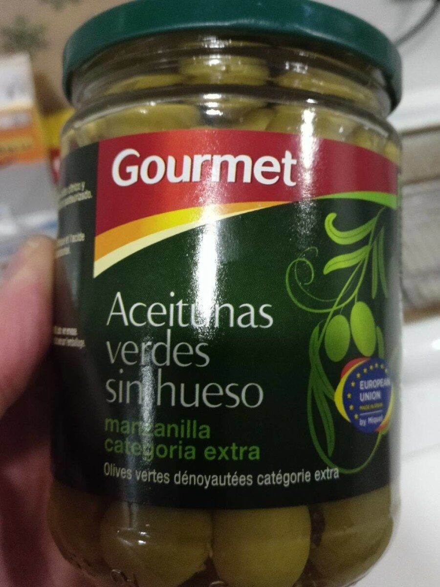 Aceitunas verdes sin hueso - Product - es
