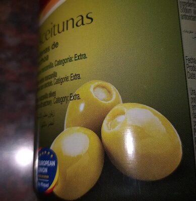 Aceitunas rellenas de anchoas - Nutrition facts
