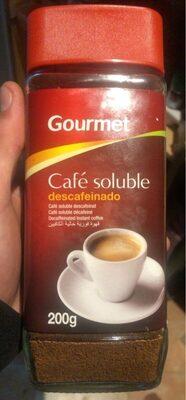 Cafe descafeinado soluble - Product - es