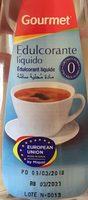 Edulcorante Gourmet Liquido 140mL - Produit - fr