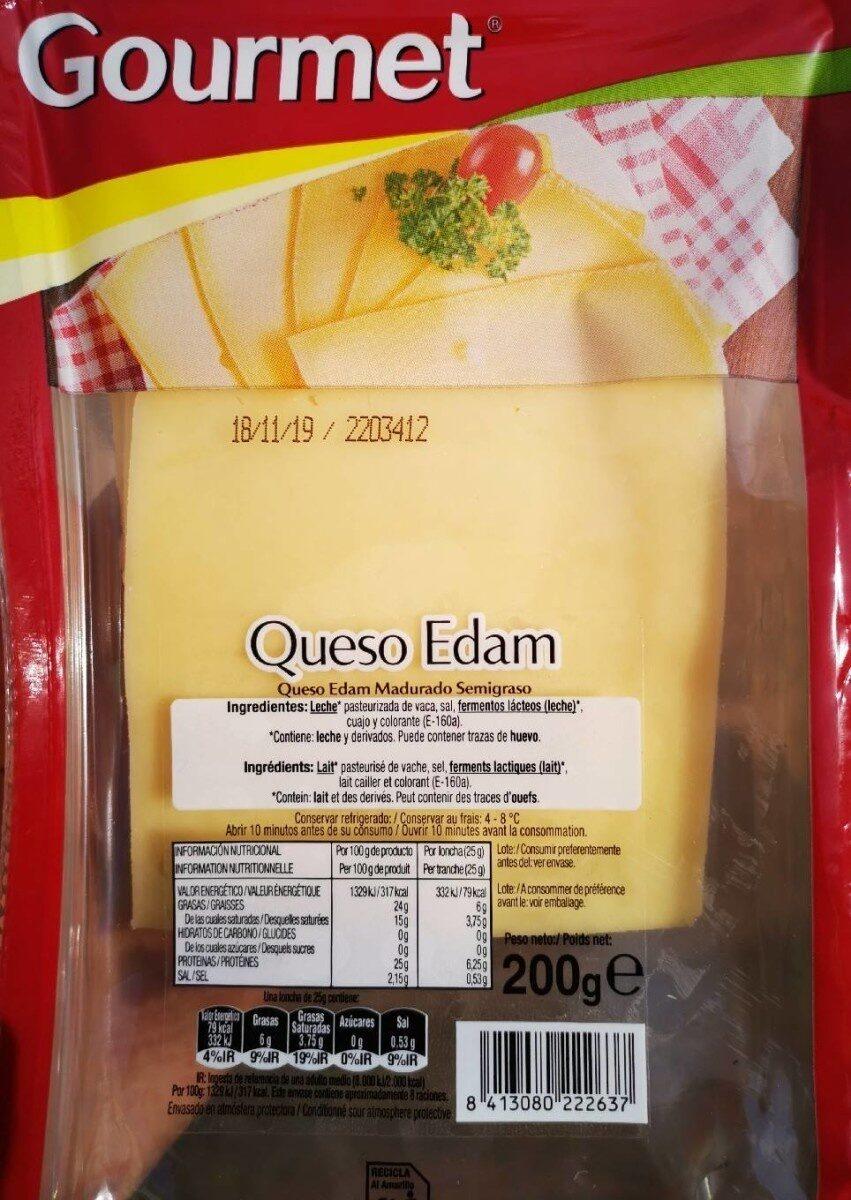 Queso Edam Gourmet - Producte