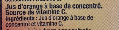 Zumo Gourmet Naranja 100% Brick - Producto - fr