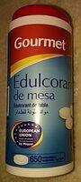 Gourmet - Edulcorante De Mesa - - 650 Comprimidos - Ingrédients - fr