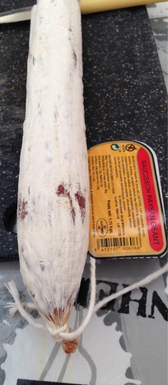 Saucisson paysan geant - Produit - fr