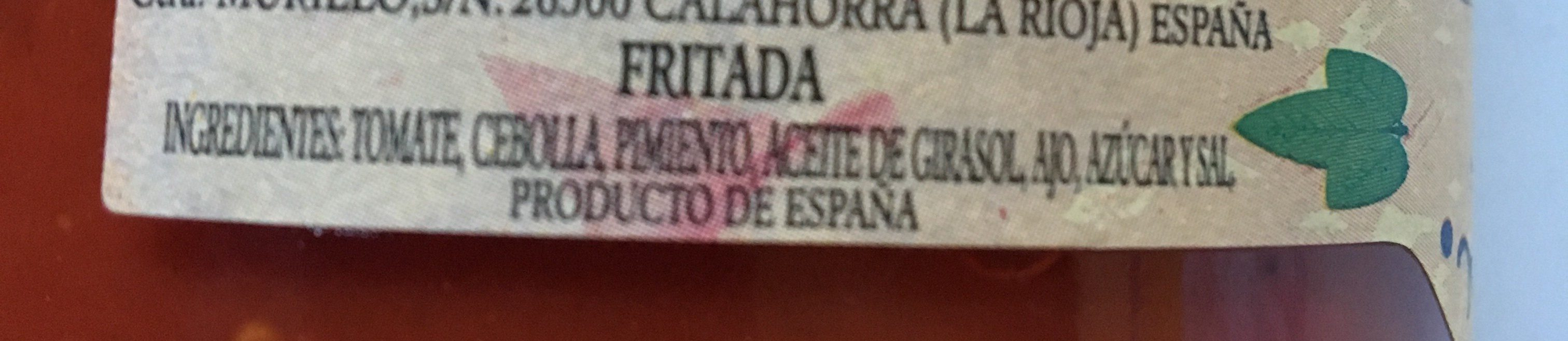 Fritada - Ingrédients
