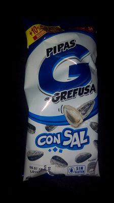 Pipas G de Grafusa con Sal - Producte