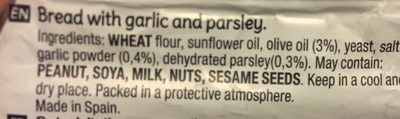 Snatt's ail et persil - Ingrédients - fr