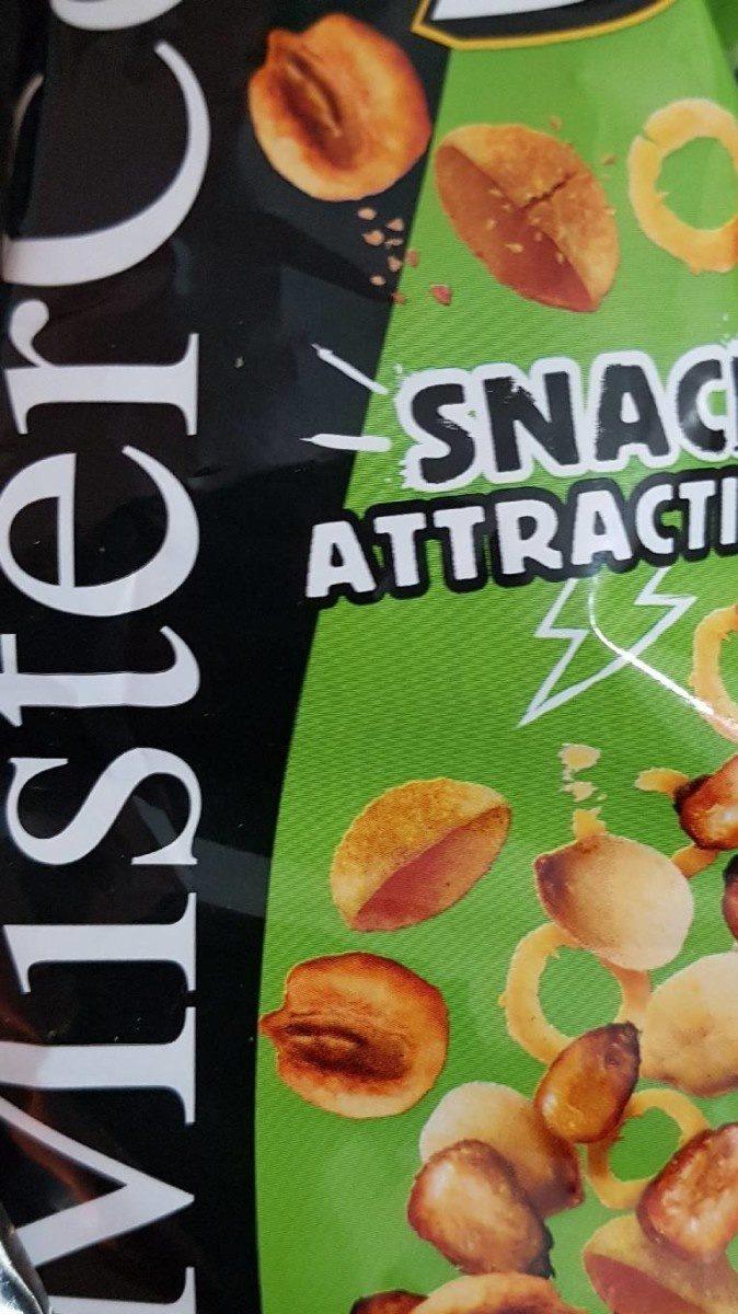 Mix snack attacttion coctel de frutos secos y snacks - Product - fr
