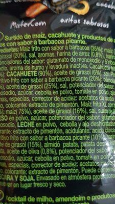 Mix snack attacttion coctel de frutos secos y snacks - Ingredients - fr