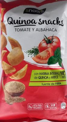 Quinoa snacks tomate y albahaca - Producto