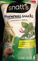 Hummus Snacks Albahaca y Perejil - Product