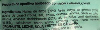 Snatt's Hummus Snack albahaca y perejil envase 110 g - Ingredientes