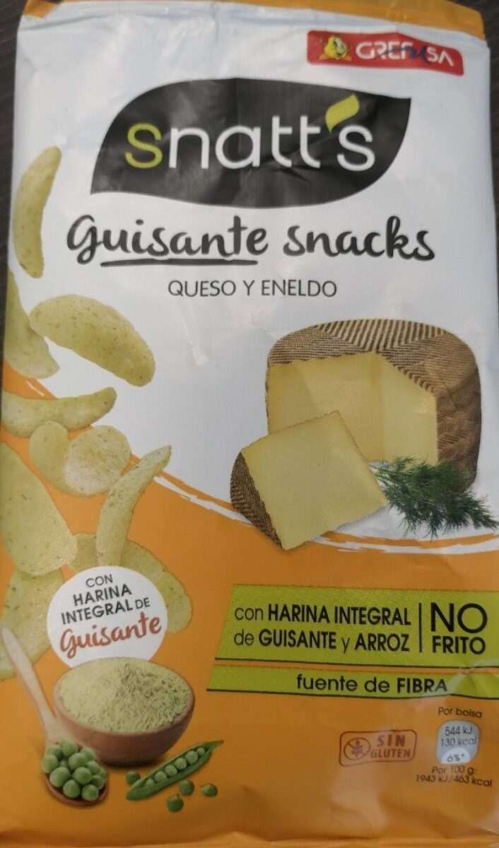Guisante snacks - Queso y Eneldo - Product